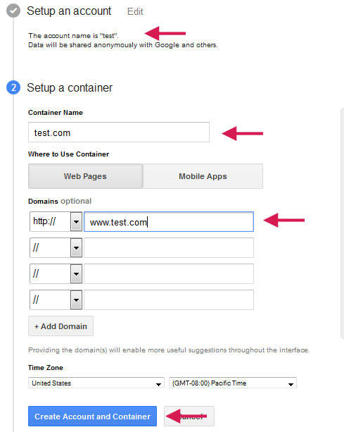 how to create a pledge manager account