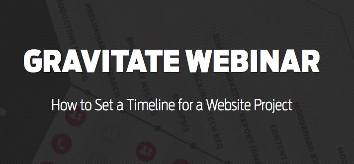 How to set a timeline for a website project