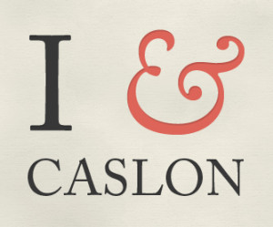Carlson Typeface Ampersand