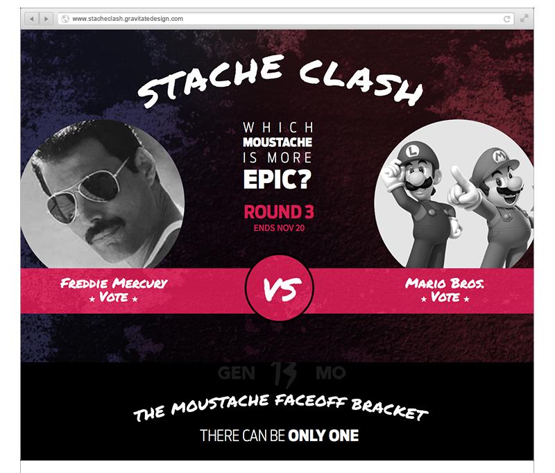 Stache Clash