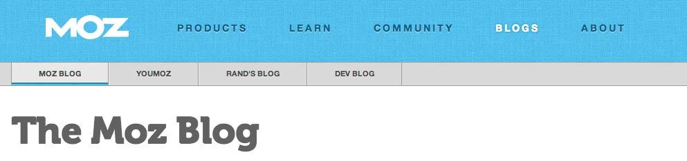 MOZ Seo Blog