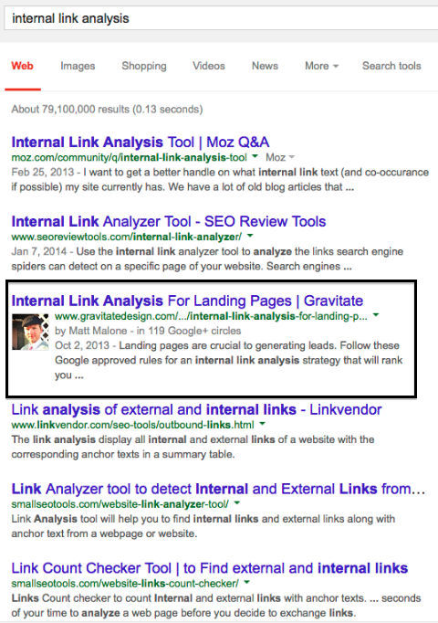 Google Authorship will increase click thru rates