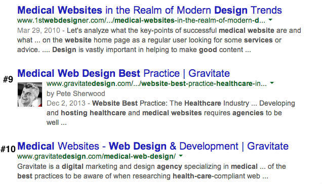 best medical web design agencies snapshot cropped