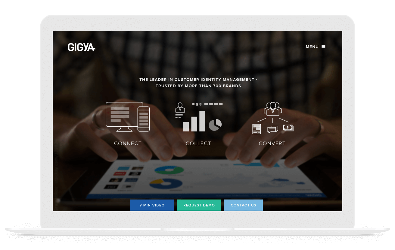gigya case study for b2b