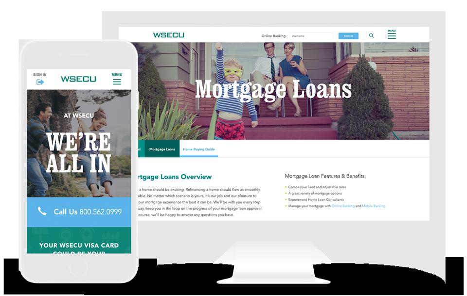 credit union web design