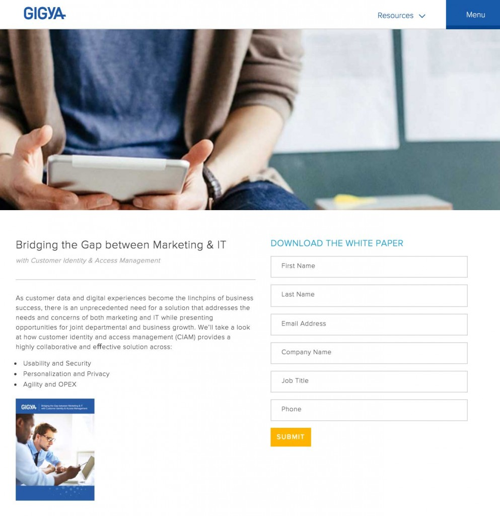 Marketo Landing Page using forms 2.0