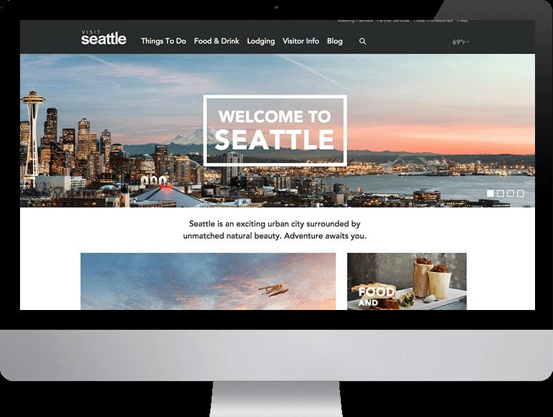 Visit Seattle iMac