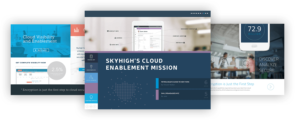 skyhigh networks mood boards
