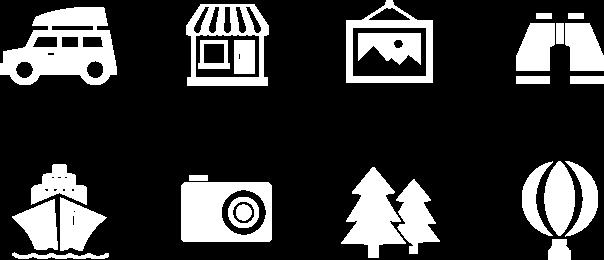 Visit Seattle icons