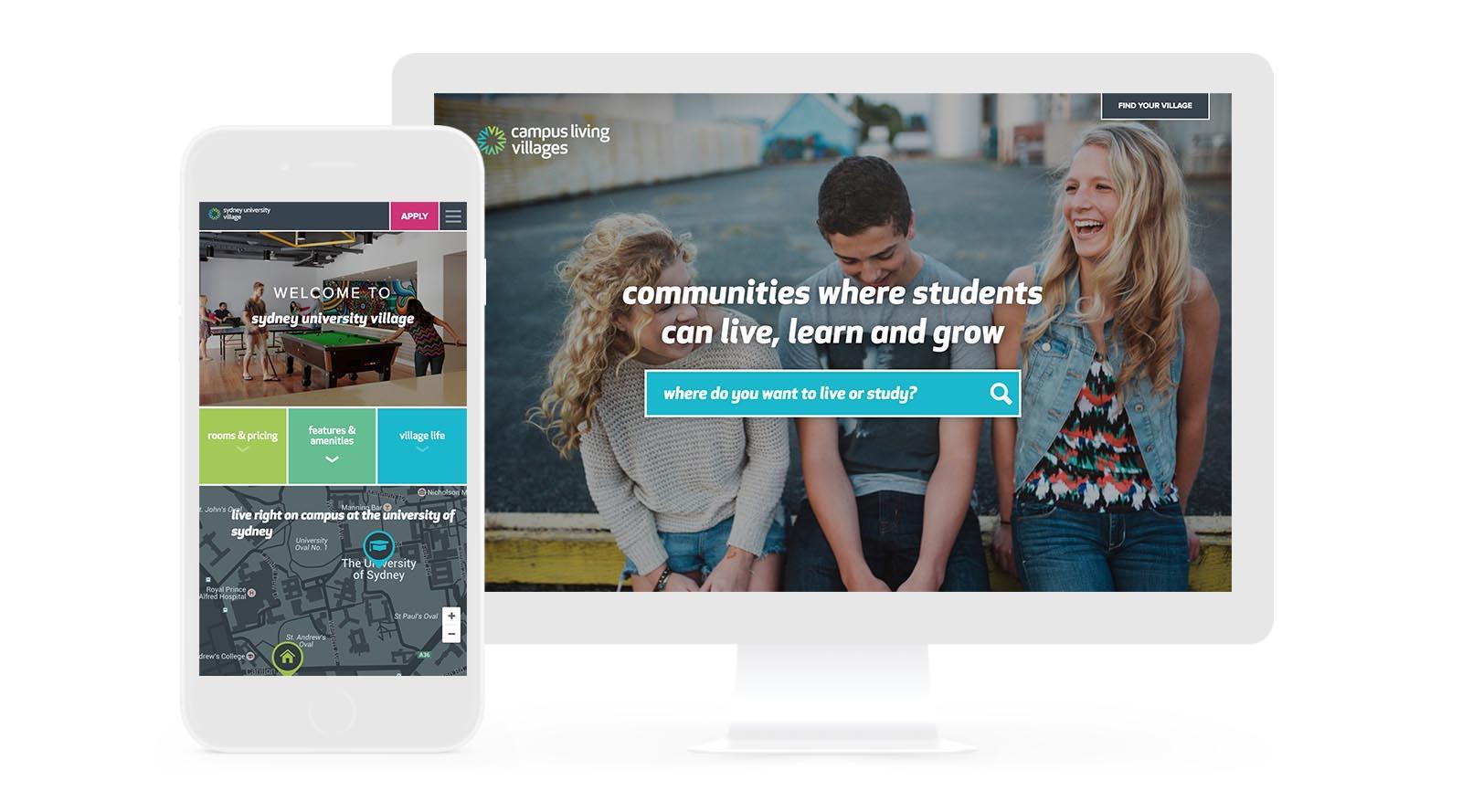web design for CLV
