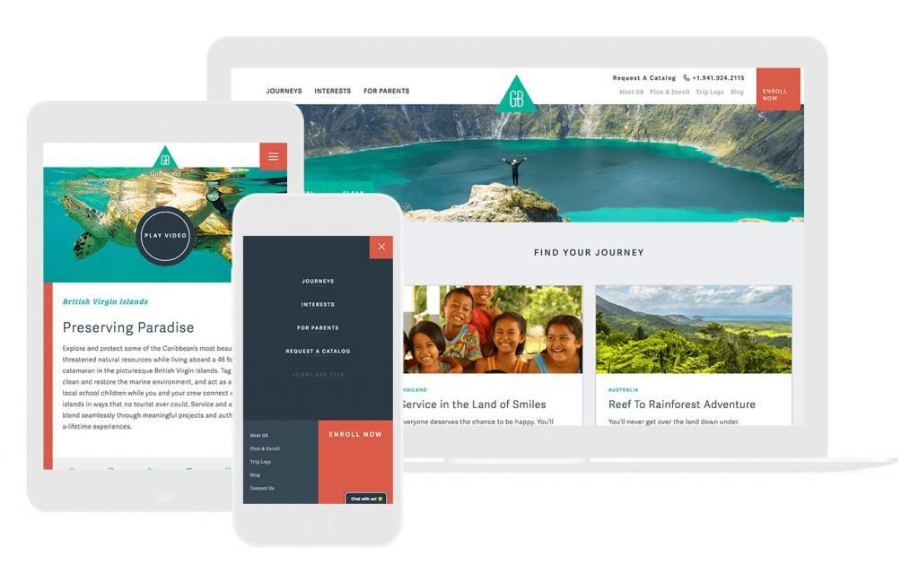 website and responsive website design