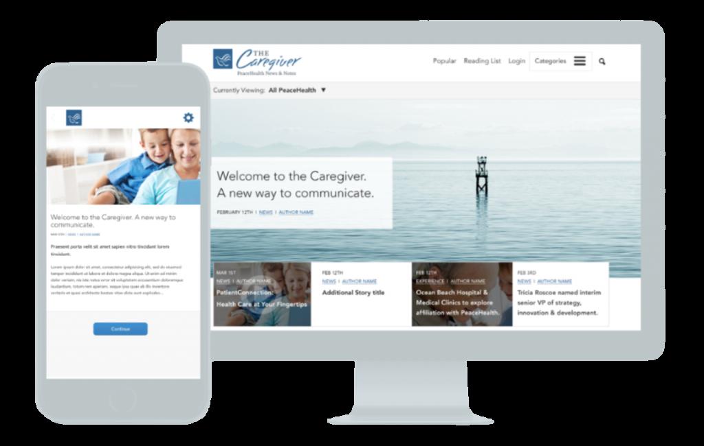 peacehealth web design