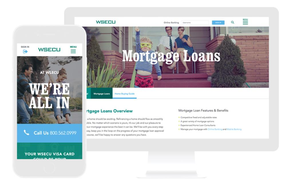 credit union website design