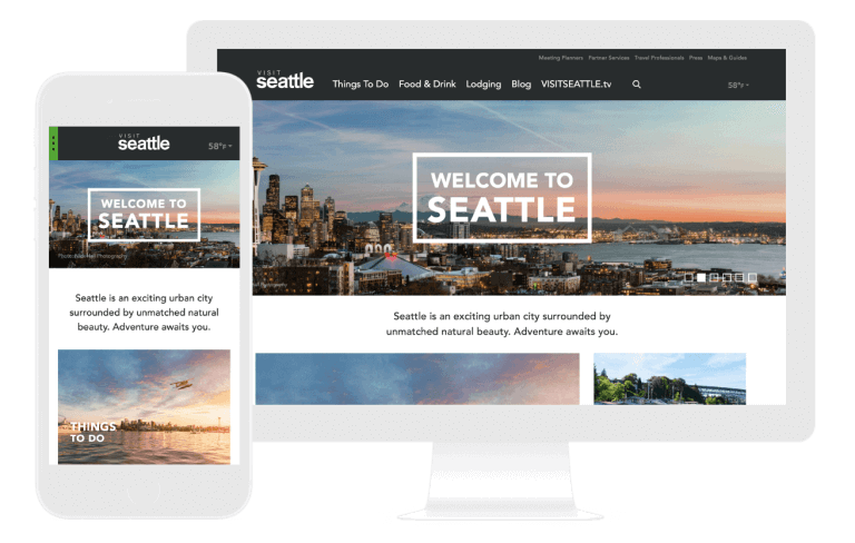 visit seattle web design