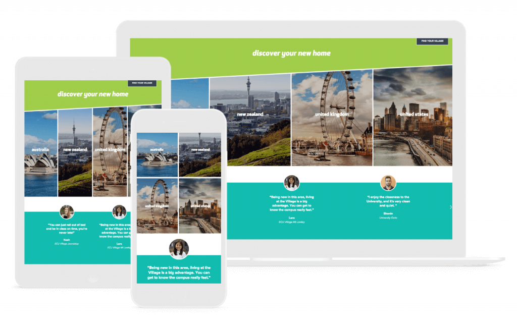 travel web design for CLV