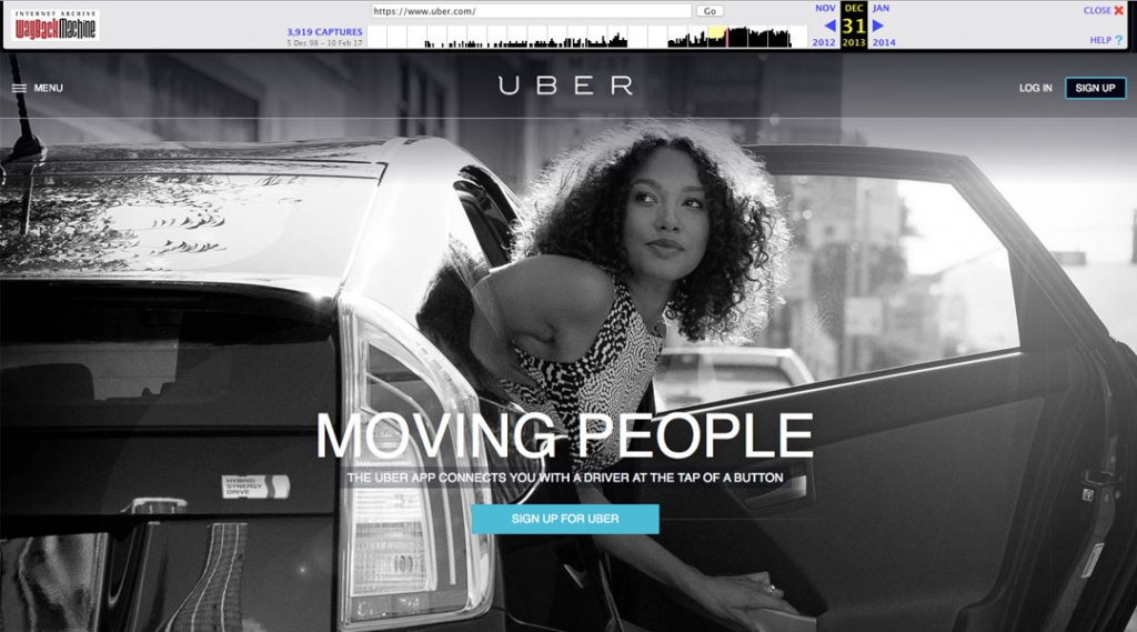 Uber 2013 Screenshot