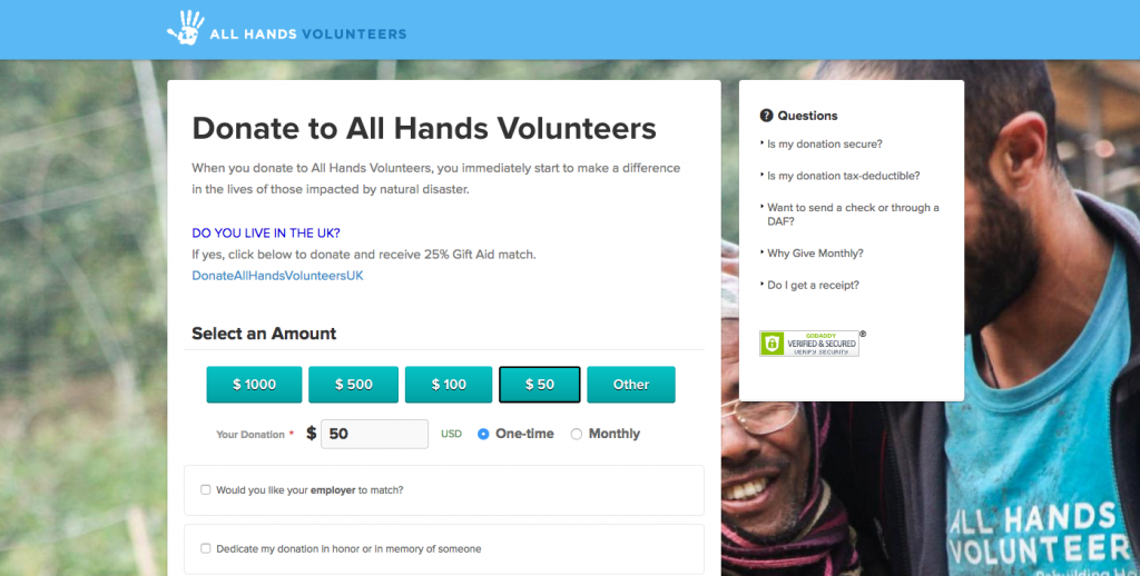 Nonprofit Web Design Best Practice Increasing Donations Gravitate