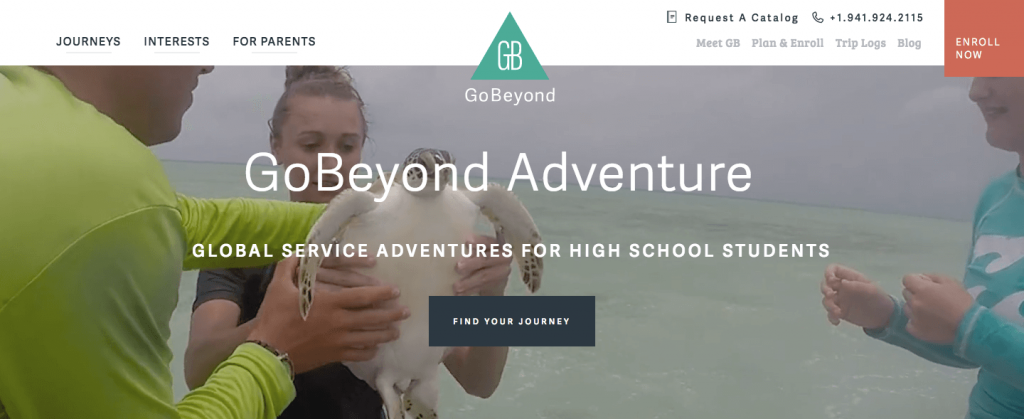 gobeyond travel website