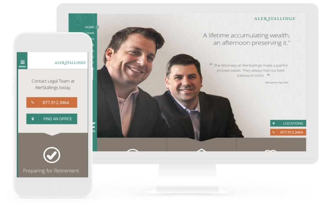 attorney firm web design
