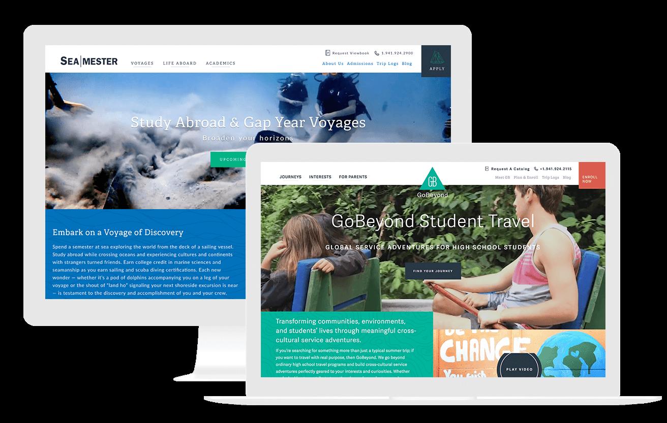 Travel Website Design Tourism Marketing Company Welcome To Gravitate