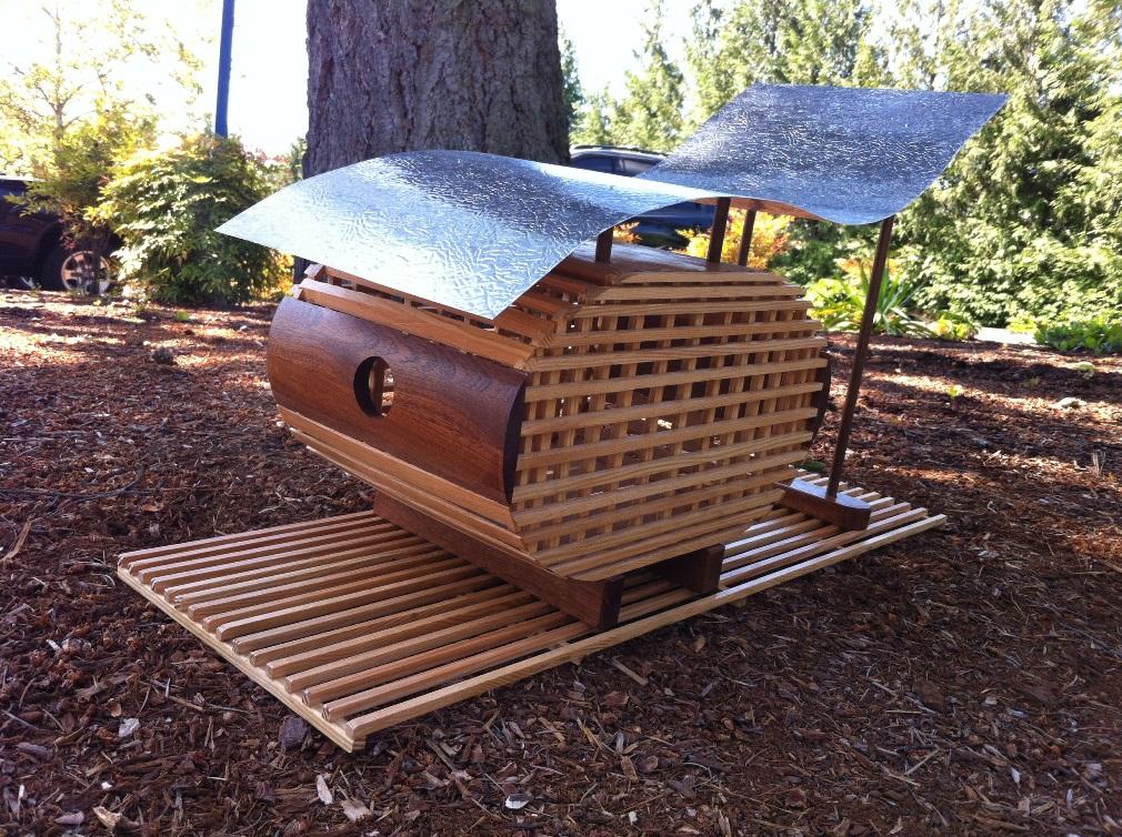 Portland Design Week Finished Birdhouse