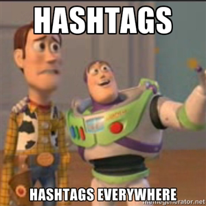 Hashtags Buzz Meme