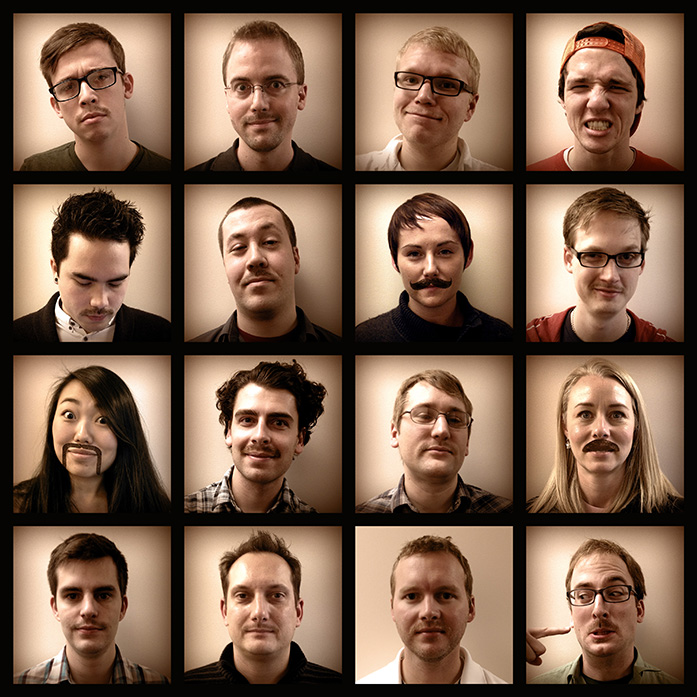 Gravitate Design's Movember Team progress
