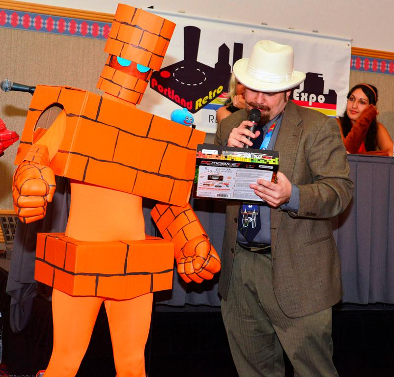 Portland Retro Gaming Expo-winning golem design