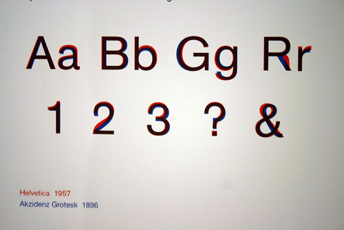 designer typeface pick akzidenz-grotesk