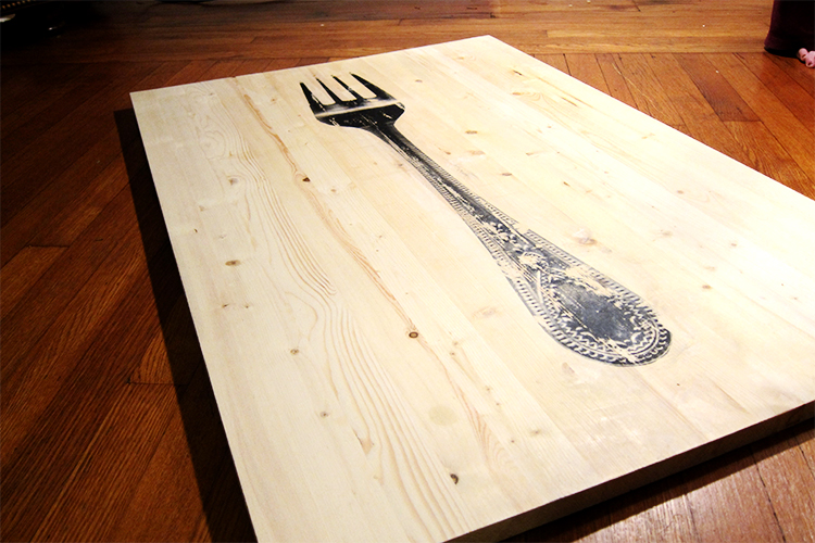 Gravitate Kitchen Art - Fork